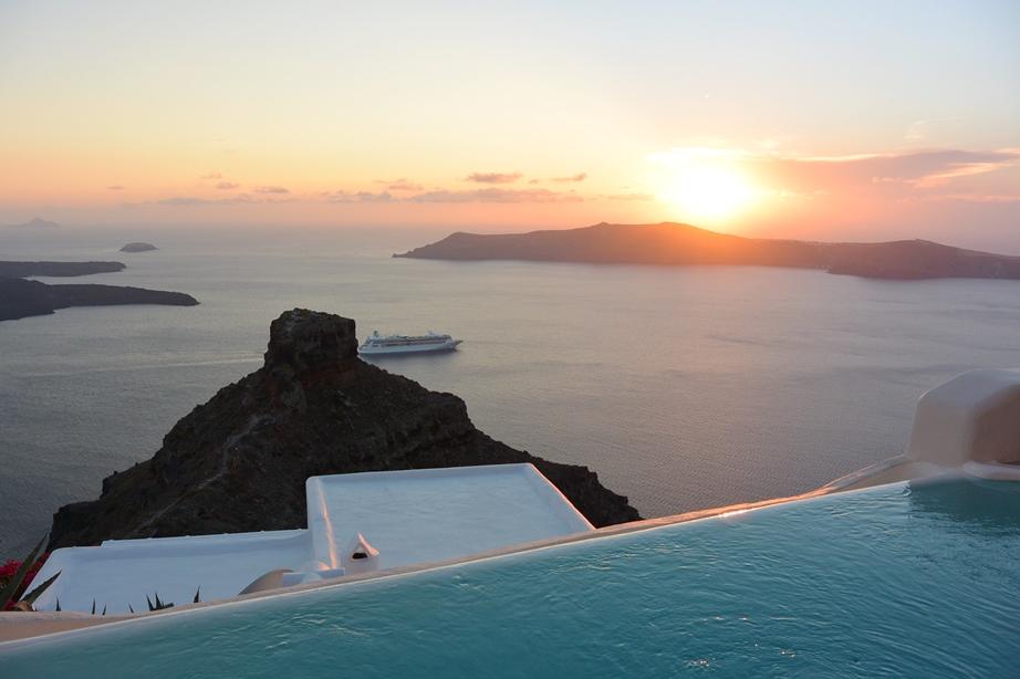 Kapari Natural Resort Hotel Luxus Santorini